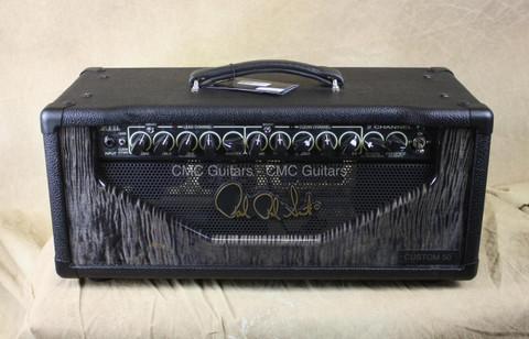 PRS 2 Channel Custom 50 50w Head Guitar Amplifier Head