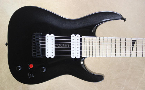 Jackson Pro DKA8 Dinky 8 String Metallic Black Guitar