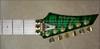 McNaught DJ+ Series Emerald Green Diamond Quilt Top Electric Guitar