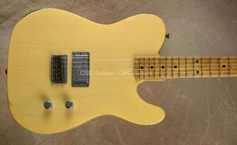 Fender Custom Shop Limited Edition Relic Esquire Nocaster Blonde Guitar