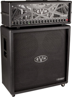 EVH 5150 III Stealth Head 100w Special Run Guitar Amplifier Half Stack w 4x12 Matching Cabinet