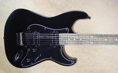 GJ2 Grover Jackson USA Glendora FR Black 2 Hum Guitar