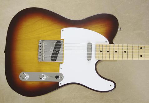 Fender Custom Shop Yuriy Shishkov Masterbuilt Tele Brown Sunburst '57 Telecaster Guitar
