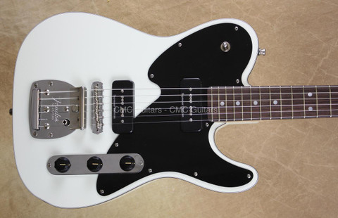 Fender Custom Shop Telecaster Masterbuilt Yuriy Shishkov Olympic White Tele Guitar
