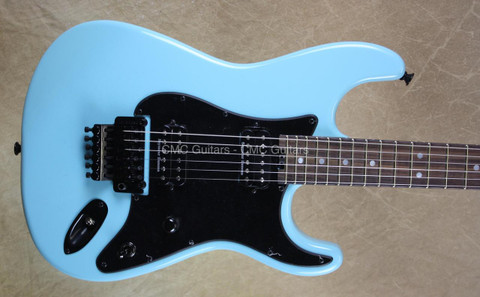 Charvel USA Custom Shop So Cal Daphne Blue Guitar