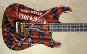 Charvel USA Custom Shop San Dimas Mental Condemned NAMM Guitar