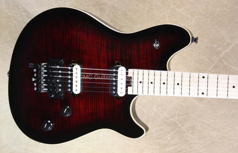 EVH Wolfgang Special Burnt Cherry Burst Guitar with FU Tone Upgrades