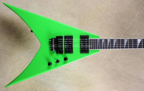 Jackson USA Custom Shop Double Rhoads King V Kawasabi Green Guitar