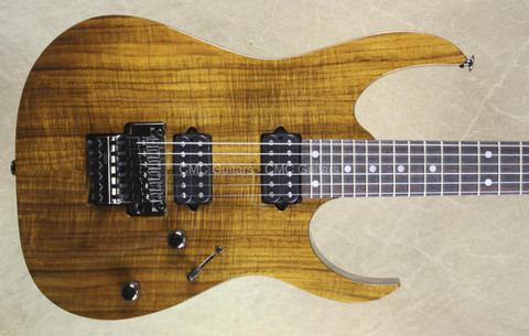 Ibanez RG652K KB 2015 Prestige Koa Brown Guitar