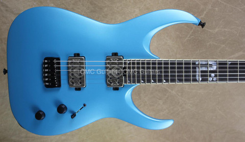 Jackson USA Misha Mansoor Juggernaut HT6 Bulb Matte Blu Frost Guitar