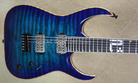 Jackson USA Misha Mansoor Juggernaut HT6 Bulb Laguna Burst Guitar