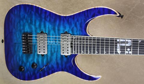 Jackson USA Misha Mansoor Juggernaut HT7 Bulb Laguna Burst 7 String Guitar