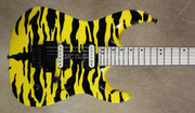 Jackson Pro Series DK2M Dinky Limited Run Yellow Tiger Guitar