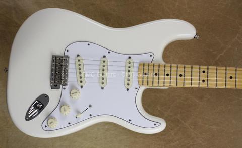 Fender Jimi Hendrix Stratocaster Olypic White Strat Guitar w/ Gig Bag