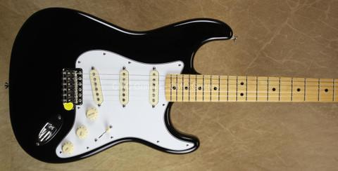 Fender Jimi Hendrix Stratocaster Black Strat Guitar w/ Gig Bag