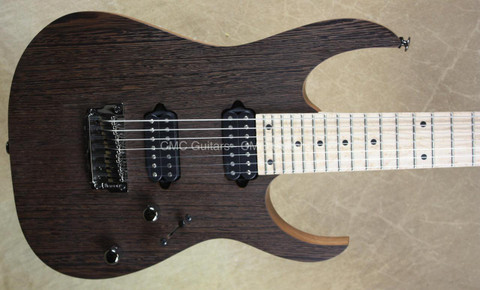 Ibanez RG Prestige Series RG752WMFX 7-String Wenge Guitar Natural Oil