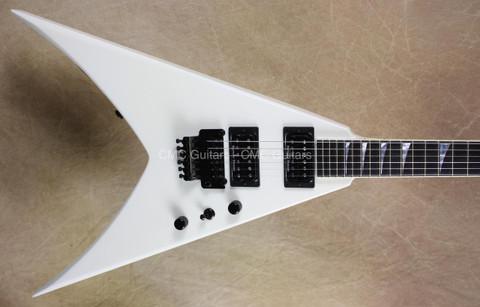 Jackson USA Custom Shop Double Rhoads King V Snow White Guitar
