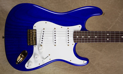 Fender Custom Shop Stratocaster Masterbuilt Yuriy Shishkov Closet Classic Featherlight Cobalt Blue Strat