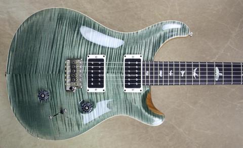 PRS Paul Reed Smith Custom 24 Trampas Green 10 Top Guitar