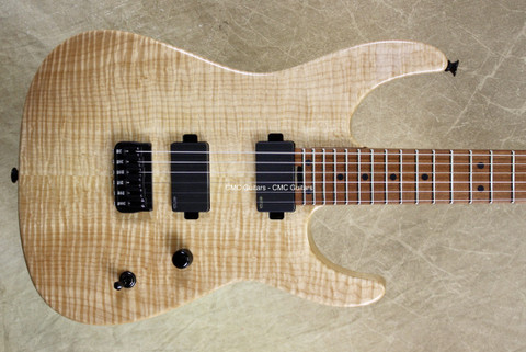 Charvel USA Custom Shop Dinky 2HT Hard Tail Natural Guitar