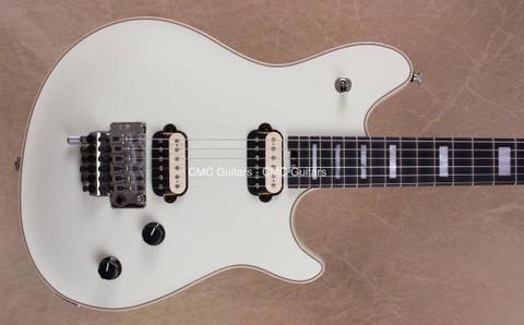 EVH Wolfgang USA Ivory Ebony Fretboard Guitar