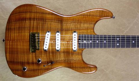 Charvel USA Custom Shop San Dimas 3Tite Koa Guitar
