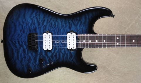 Charvel Pro Mod San Dimas Style 1 HT Trans Blue Burst Guitar