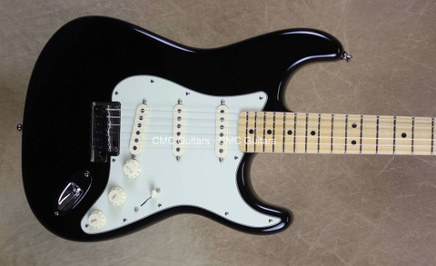 Fender American The Edge U2 Strat Stratocaster Black Signature Guitar