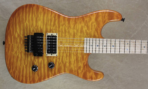 Charvel USA San Dimas Custom Shop 1H Solar Quilt Maple Top Guitar