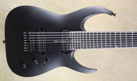 Jackson USA Misha Mansoor LTD Juggernaut HT8 Satin Black 8 String Guitar