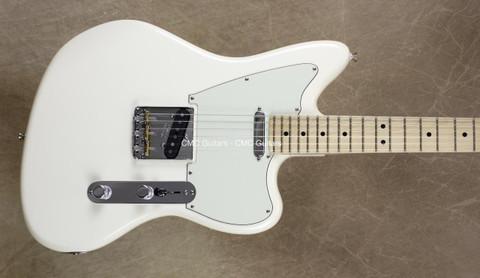 Fender 2016 LTD American Standard Tele Offset Telecaster Olympic White Guitar