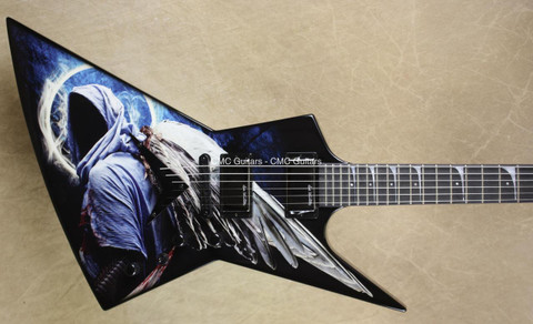 Dean USA Dave Mustaine Zero Angel of Deth Guitar