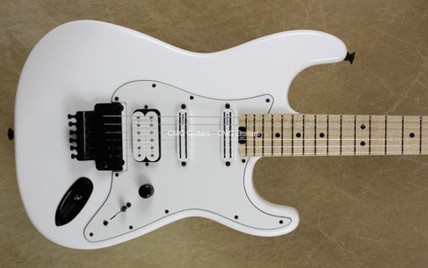 Charvel USA SoCal Custom Shop HSS Snow White Guitar