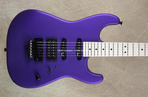 Charvel USA Select San Dimas HSS Satin Plum Guitar