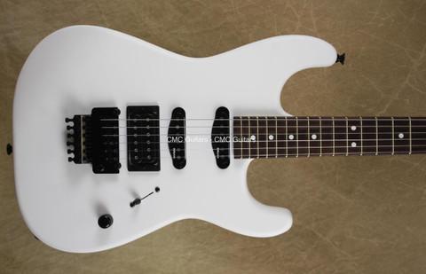 Charvel USA Select San Dimas HSS Snow Blind Satin Guitar