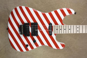 Charvel USA San Dimas Custom Shop HS Candy Striped Guitar
