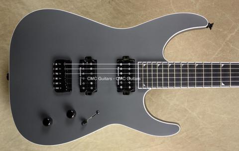Jackson USA Custom Shop DK 2H HT Dinky Battleship Grey Guitar