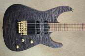 Jackson USA Signature PC1 PHIL COLLEN Satin Trans Black Guitar