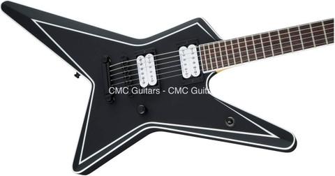 Jackson USA Custom Shop Signature Gus G. Star Satin Black Guitar