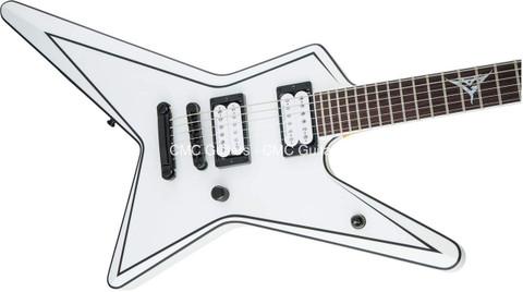 Jackson USA Custom Shop Signature Gus G. Star Satin White Logo Inlay Guitar