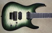 Jackson Pro Series Soloist SL2Q MAH Alien Burst Guitar