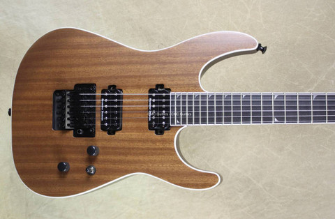 Jackson Pro Series Soloist SL2 Natural Mahogany Guitar