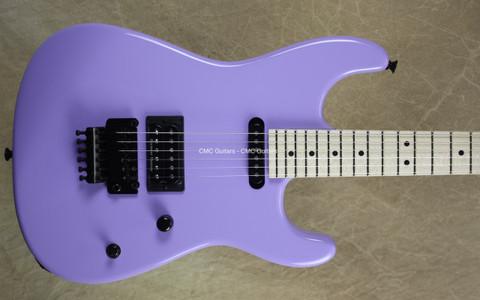 Charvel USA San Dimas Custom Shop HS Okubo Purple Guitar