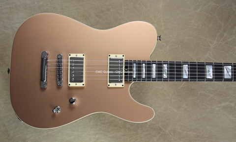 Charvel USA Custom San Dimas Style 2 Tele Copper Flat Top Guitar