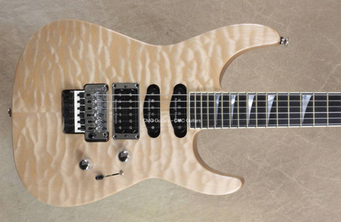 Jackson USA Custom Shop Select SL1 Soloist Natural Guitar