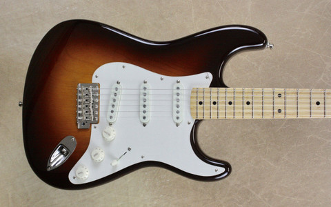 Fender Custom Shop Postmodern NOS Stratocaster Wide Fade 2 Tone Chocolate Sunburst Guitar