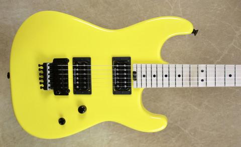 Charvel USA San Dimas Custom Shop 2H Graffiti Yellow Guitar