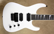 Jackson USA Custom Shop SL2H Speed Neck Soloist Snow White