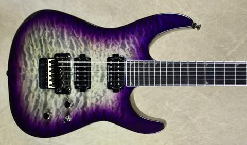 Jackson Pro Series Soloist SL2Q MAH Purple Haze Guitar