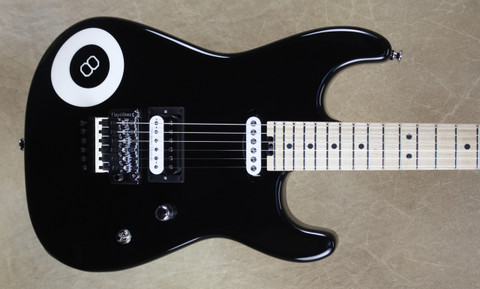 Charvel USA Custom Shop San Dimas HS 8-Ball Guitar